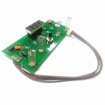 Электронная плата управления водонагревателем Ariston с дисплеем 65150964