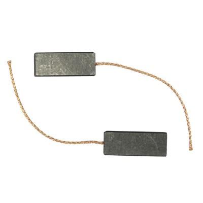 Щетки электродвигателя двухслойные - 2 шт без корпуса C024