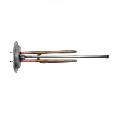 ТЭН RF 1500W, ИТА, медь, Ø92, М6, клеммы под стержневой термостат, L260мм, 220V
