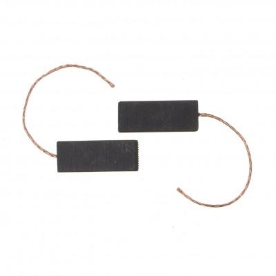 Угольные щетки электродвигателя, 5x12,5x36мм, с проводом, сэндвич (CAR010UN)