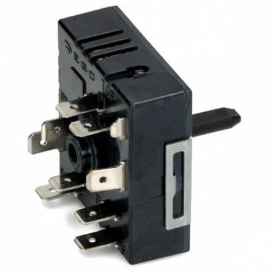Переключатель двухзонный EGO для конфорки электроплиты COK351UN