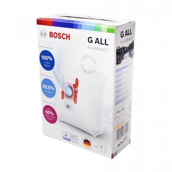 Мешок пылесборник пылесоса Bosch (комплект 4 шт), PowerProtect TYPE G ALL 17003048, 461353, 17000940