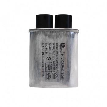 Конденсатор СВЧ печи CH85 0,76±3%мкФ, высоковольтный, 2100V (CH8521076), x85076