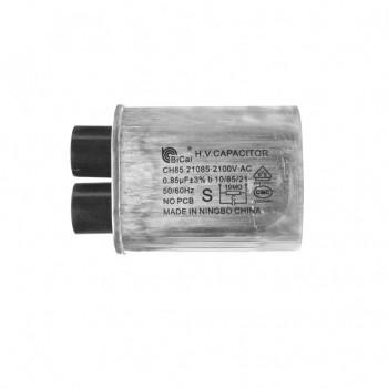 Конденсатор СВЧ печи CH85 0,85±3%мкФ, высоковольтный, 2100V (CH8521085), x85085