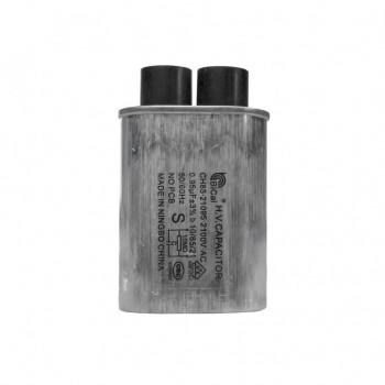 Конденсатор СВЧ печи CH85 0,95±3%мкФ, высоковольтный, 2100V (CH8521095), x85095