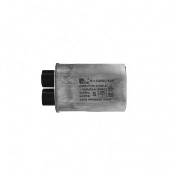 Конденсатор СВЧ печи CH85 1,05±3%мкФ, высоковольтный, 2100V (CH8521105), x85105