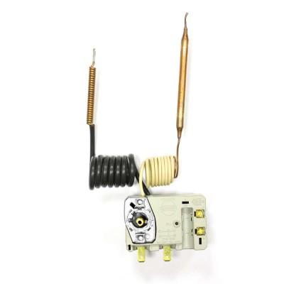 Термостат регулируемый/защитный TBS B Н12 16А/10А, 0°С/термозащита на 105°С, 850мм/670мм, два капилляра, h 16мм, 250V/400V (WTH434UN)