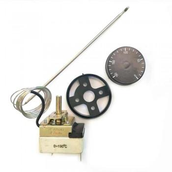 Термостат для духовки 0-190°С с ручкой регулировки 100366