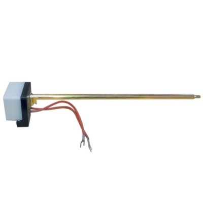 Термостат стержневой 16А, MGI, 20-60°С/термозащита на 83°С,  трубка Ø8, с проводами, 275мм, 230V