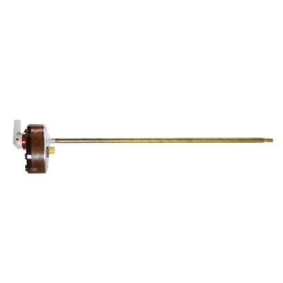 Термостат стержневой TBS 16A, 70°С/термозащита на 83°С,  275мм, с ручкой, 250V