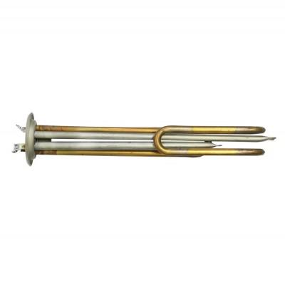 ТЭН RF 2000W(500+1500), TW, медь, Ø64, М6, клеммы под винт, L265мм, 220V