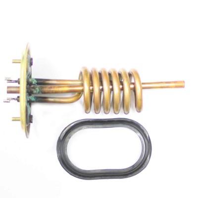 ТЭН 3,2 кВт с овальным фланцем для водонагревателей Ariston Platinum 160138