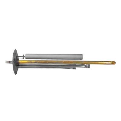 КОМПЛЕКТ: ТЭН RF 1300W, ИТА, медь, Ø64, М4, клеммы под разъем, L300мм, 220V + анод М4
