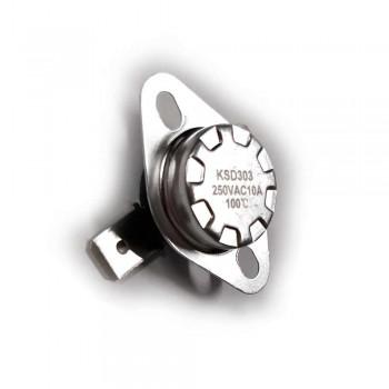 Термостат биметаллический KSD 303 100°С 310100
