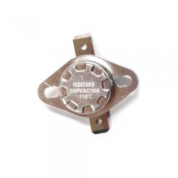 Термостат KSD303 10A, 110°С, биметаллический, самовозвратный