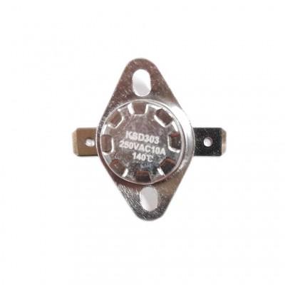 Термостат KSD303 10A, 140°С,  биметаллический, самовозвратный