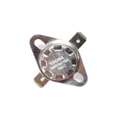 Термостат KSD303 10A, 160°С, биметаллический, самовозвратный