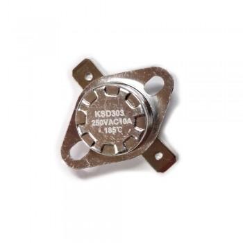 Термостат KSD303 10A,185°С,  биметаллический, самовозвратный