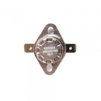 Термостат KSD303 16A, 80°С, биметаллический, самовозвратный