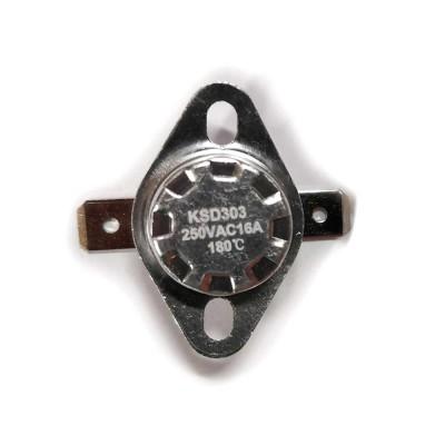 Термостат KSD303 16A, 180°С, биметаллический, самовозвратный
