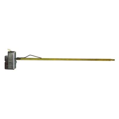 Термостат стержневой TMS 20A, TW, 70°С/термозащита на 90°С,  275мм, 4 контакта, 250V