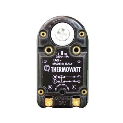 Термостат стержневой TAS 15A, TW, 70°С/термозащита на 90°С, 300мм, 250V (3412075, WTH403AR)