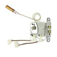 Термостат регулируемый/защитный TBS T 16А/10А, TW, 76°С/термозащита на 94°С, 240мм, капиллярный, прямоугольный, h8мм, с индикатором лампы, с проводами, 250V/400V