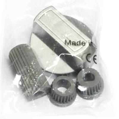 Ручка для плиты серебристая 43CU008