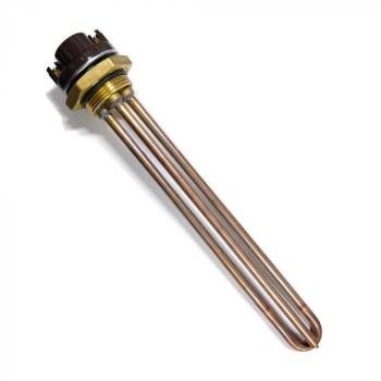 КОМПЛЕКТ: ТЭН RDT 2000W, ИТА+, Ø42, композитная заливка, 220V  + термостат + прокладка
