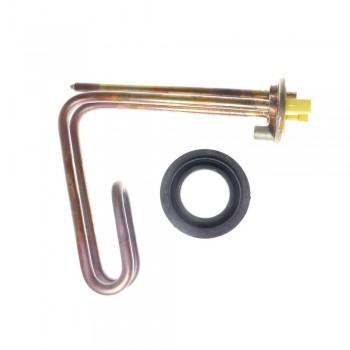 КОМПЛЕКТ в упаковке Аристон: ТЭН RCF 1200W, TW, Ø48, М5, L160мм, горизонтальный, 220V + прокладка (65114905)
