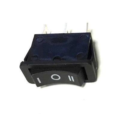Выключатель одноклавишный 13*29мм, 15А, 250V 3 положения