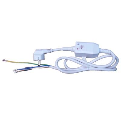 Шнур сетевой с УЗО 16/0,03А, контакты под разъём, 220V