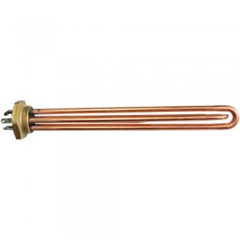 ТЭН тип RDT медный на 3 кВт с трубкой термостата 68130