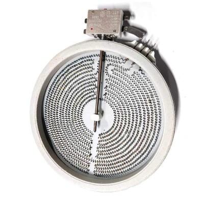 ЭКС 1700W, ИТА, D200мм, 3 контакта, с термозащитой, 2-хзонная
