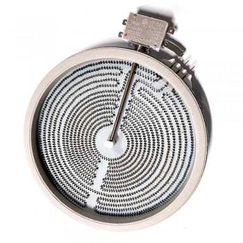 ЭКС 2100W, ИТА, D230мм, 3 контакта, с термозащитой, 2-хзонная