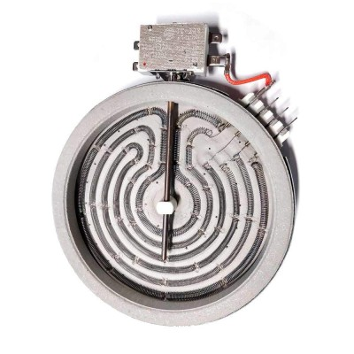 ЭКС 1200W, D165мм, hi-light, 4 контакта, с термозащитой, 3 греющих элемента, 5 режимов нагрева
