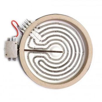ЭКС 1800W, D200мм, hi-light, 4 контакта, с термозащитой,  3 греющих элемента, 5 режимов нагрева