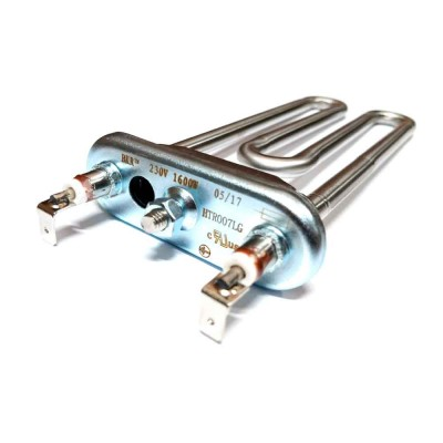 ТЭН 1700W, Backer, L155мм, R15, M125, K2, Ф4 прямой, отверстие под датчик, 230V