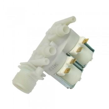 Электроклапан 2Wx180° прямой к стиральным машинам Ariston, Indesit К020ID