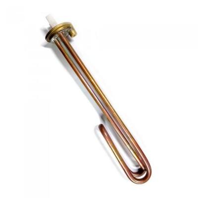 ТЭН RCF 3000W, медь, Ø48мм, М6, клеммы под стержневой термостат, L280мм, вертикальный, 220V (WTH105UN)