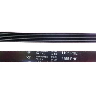 Ремень 1195 H7 длина 1123 мм чёрный, Hutchinson H127 (BLH127UN)