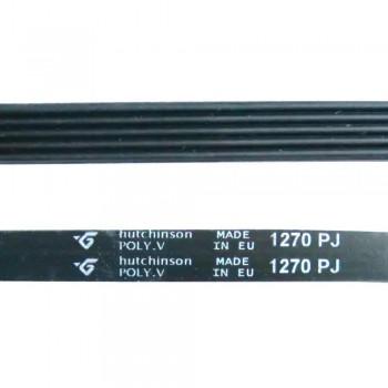Ремень 1270 J5 hutchinson чёрный J487 (BLJ487UN)