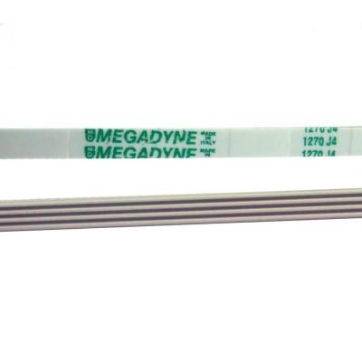 Ремень для стиральной машины 1270 J4 poly megadyne, белый J522 (BLJ522UN)
