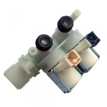 Электроклапан 2Wx180° прямой для стиральных машин Ariston, Indesit К021ID