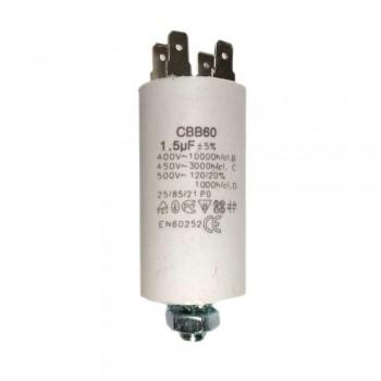 Пусковой конденсатор СВВ60 1,5 мФ х60015