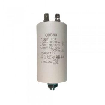 Пусковой конденсатор СВВ60 16 мФ х60160